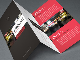 Our graphic design service includes brochure design